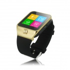 "ZGPAX S28 1.54"" Capacitive Touch Screen GSM Watch Phone w/ Quad-band, FM, Bluetooth - Black + Golden"