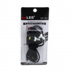 exLED Wired 1W 80lm SMD 5050 LED White Car / Motorcycle License Plate Lamp (12V)