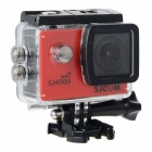 "SJCAM SJ4000 Wi-Fi 1.5"" TFT 1080P HD 2/3"" CMOS 12MP Outdoor Sport Camera w/ Waterproof Case - Red"