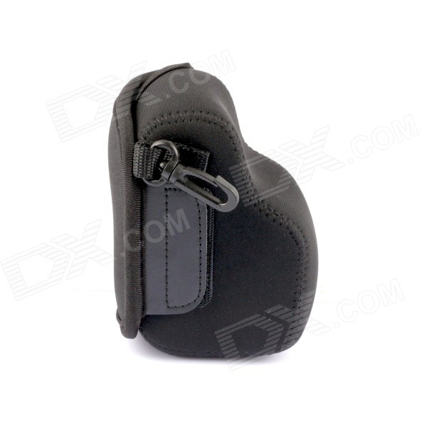 NEOpine Protective Neoprene Camera Case Bag for Sony NEX5T, NEX5R, NEX3N - Black neopine ne u5 neoprene camera protection bag