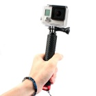 Handheld Monopod w/ TrIPOD Mount Adapter for GoPro Hero - Black + Red