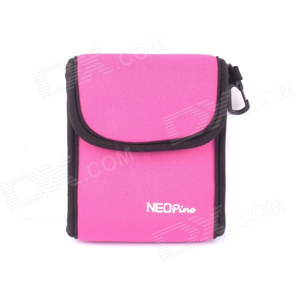 NEOpine Travel Portable Camera Accessories Storage Bag for GoPro Hero 2 / 3 / 3+/4 - Deep Pink