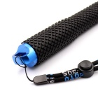 PANNOVO 4-Section Retractable Handheld Monopod for GoPro HERO 2/3/3+/4 - Black + Blue