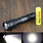 FandyFire WF-502B 900lm 3-Mode White LED Flashlight - Black