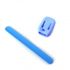PJ-002 Protective Silicone Case + Wrist Band for GoPro Hero 3 / 3+ Wi-Fi Remote Controller - Blue