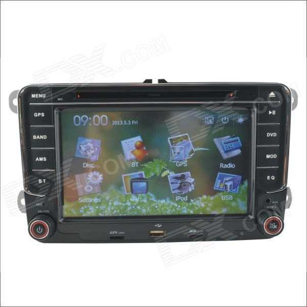 7 Screen DVD Player w/ Radio, GPS, Bluetooth for Volkswagen Magotan, Passat, Jetta, Polo, Skoda joyous vw 8 car dvd player w radio gps analog tv bt canbus for polo jetta tiguan turan passat