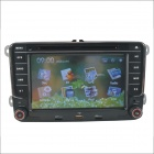"7"" Screen DVD Player w/ Radio, GPS, Bluetooth for Volkswagen Magotan, Passat, Jetta, Polo, Skoda"