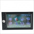 "336DG Universal 6.2"" Screen DVD Player w/ Radio, GPS Navigation, Bluetooth, Steering Wheel Control"