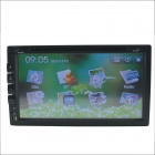 "669 Universal 6.9"" Screen DVD Player w/ Radio, GPS Navigation, Bluetooth + Steering Wheel Control"