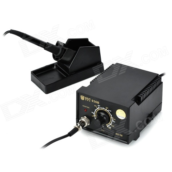 Best BEST-936B Anti-Static Constant Temperature Soldering Station w/ Iron (3-Flat-Pin Plug) тонер static control mpt5 10kg