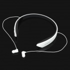 Cannice Y2 Sport Headband Bluetooth v4.0 Stereo Headset w/ NFC, Microphone - White + Black