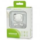 Square Bluetooth v3.0 Clip-On Headset w/ NFC Function, In-Ear Stereo Earphones - White