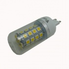 WALANGTING G9 7W 350lm 3500K 36-SMD 5050 LED Warm White Light Corn Lamp - White (AC 220V)