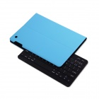 B.O.W Detachable Bluetooth V3.0 Keyboard w/ PU Leather Case for IPAD AIR - Blue + Black