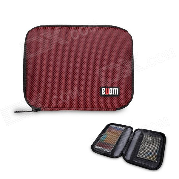 BUBM Multi-purpose Carrying Storage Bag / Cell Phone Pocket / Power Bag - Red