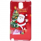 Christmas Santa Claus Pattern Protective PC Back Cover Case for Samsung Galaxy Note 3 - Red