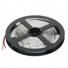 JRLED 144W 8000lm 630nm 300-SMD 5730 LED Red Light Strips - Black + White (2 PCS / 5M / DC 12V)