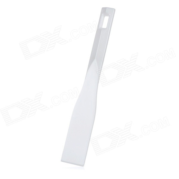 Plastic Solder Tin Paste Stirring Scraper - White 5 stainless steel scraper spatula for solder paste mixing stirring silver