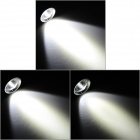 JETBeam DDA20 de plein air 285lm 4-Mode Cool White Light LED Lampe d'affichage numérique-Noir (2 x AA)