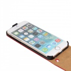 "WB-55PL Protective Leather Top Flip-Open Case for IPHONE 6 PLUS 5.5"" - Red"