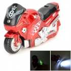 Creative Motorcycle Windproof Gas Butane Lighter - Red + Black