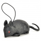 Halloween / Fools' Day Tricky Mouse Toy w/ Strap - Black