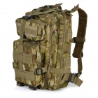 BS022-CP Outdoor 600D Oxford Tactical Shoulders Bag / Molle Backpack - Camouflage