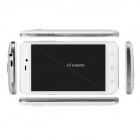 Kingsing K2 Android 4.2 MTK6572 Dual-Core WCDMA Phone w/ 4.3'' IPS, 4GB ROM, GPS, WiFi - White