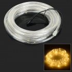 HH55 3W 150lm 3500K 100-LED Warm White Flexible Tube Light - White + Black (DC 12V)