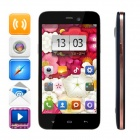 Kingsing K2 Android 4.2 MTK6572 Dual-Core WCDMA Phone w/ 4.3'' IPS, 4GB ROM, GPS, WiFi - Black