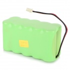 AOB 10*4/5A2000 12V 2000mAh Rechargeable Electrocardiograph Ni-MH Battery Pack - Green (10cm)