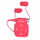 LB03 NFC Bluetooth V3.0 Stereo-In-Ear-Ohrhörer Headsets w / Call Function - Deep Pink