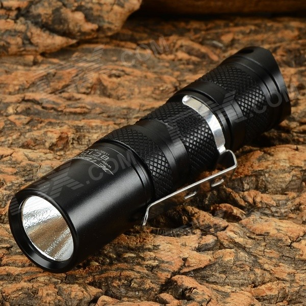 JETBeam BC10 270lm 2-Mode Cool White LED Flashlight - Black (1 x CR123)
