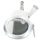 MG16129A 10X Soldering Auxiliary Magnifier - Black + Silver