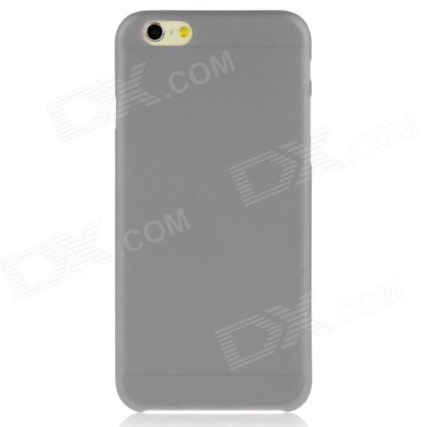 "Hat-Prince 0.3mm Ultra-thin Protective Plastic Back Case for IPHONE 6 PLUS 5.5"" - Grey"