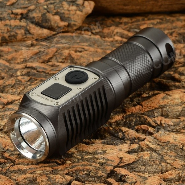 JETBeam DDC10 285lm 4-Mode Cool White Self-defense Mini LED Flashlight - Black (1 x CR123A)