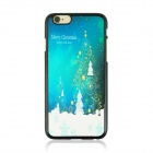 "Christmas Snow Pattern Protective PC Back Case for IPHONE 6 4.7"" - CP Camouflage"