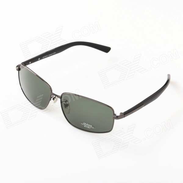 все цены на 503 Men's Driving Resin Lens High Nickel Alloy Frame Polarized Sunglasses - Grey + Dark Green онлайн