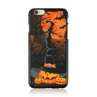 Halloween Pumpkin + Moon Pattern Protective PC Back Case for IPHONE 6 4.7