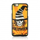 "Halloween Devil Pattern Protective PC Back Case for IPHONE 6 4.7"" - Black + Orange + Yellow"