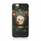 "Halloween Monster Pattern Protective PC Back Case for IPHONE 6 4.7"" - Black + Multicolored"