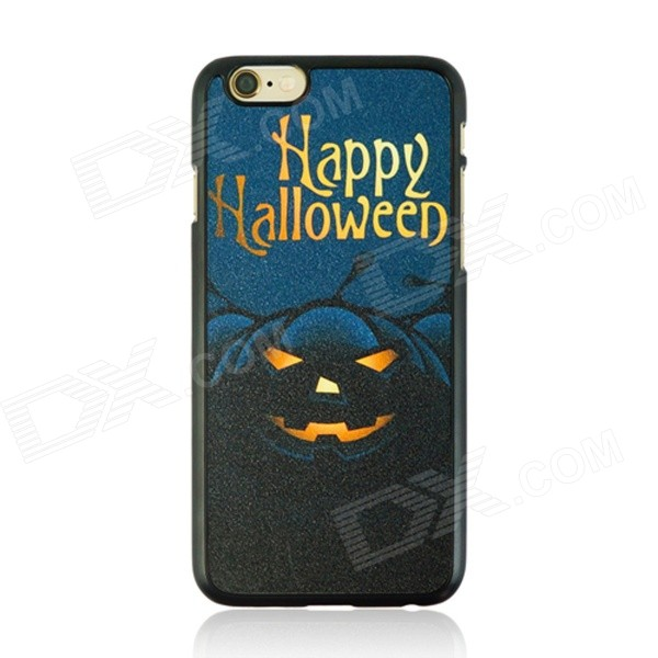 Halloween Evil Pumpkin Lantern Pattern Protective PC Back Case for IPHONE 6 4.7 - Multicolored halloween devil moon pattern protective pc back case for iphone 6 4 7 black multicolored