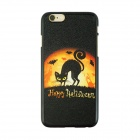 "Halloween Fox Pattern Protective PC Back Case for IPHONE 6 4.7"" - Black + Orange"