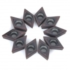 Steel CNC Lathe Cut Off Inserts / Cutting Tools - Brownish Black (10PCS)