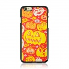 "Cute Halloween Pumpkin Lanterns Pattern Protective PC Back Case for IPHONE 6 4.7"" - Red + Orange"