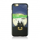 "Halloween Devil + Moon Pattern Protective PC Back Case for IPHONE 6 4.7"" - Black + Multicolored"