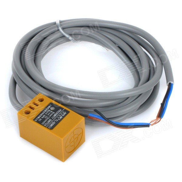 где купить  TL-Q5MC1 Plastic Proximity Switch Sensor - Grey + Earth Yellow  дешево