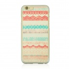 "Totem Pattern Protective PC Back Case for IPHONE 6 4.7"" -  Multicolored"