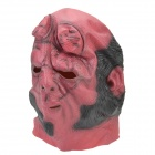 Buy Halloween Party Cosplay Devil Rubber Mask - Red + Black