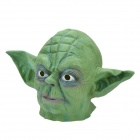 Big Ears Green Alien Rubber Mask - Green